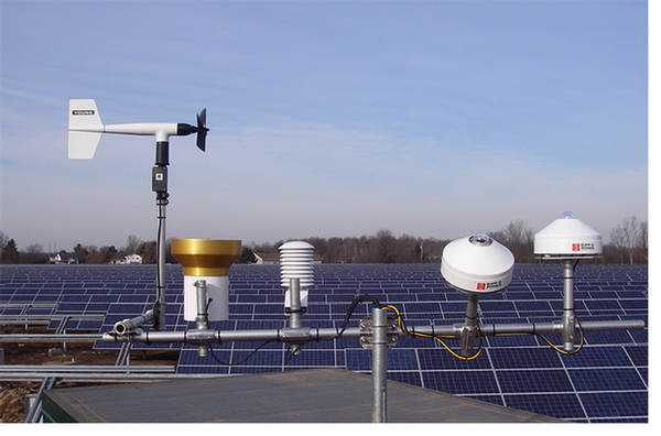 Solar Power Monitoring System : Solar energy systems for site assessment performance