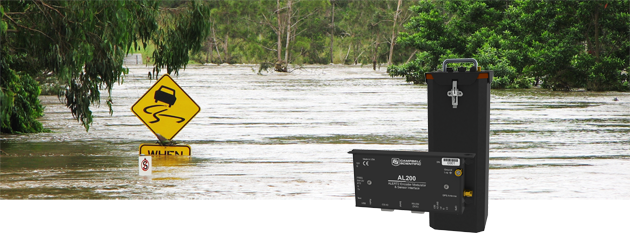 Flood Warning Alert Real Time Monitoring And Control