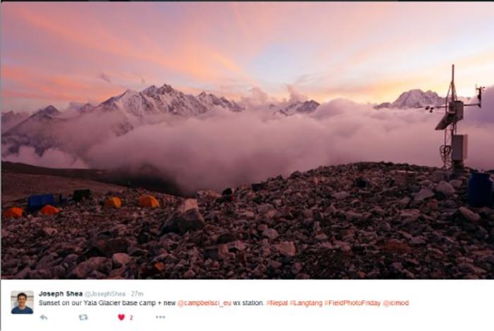 Yala Glacier