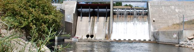 Dam Monitoring Water Level Stand Alone Measurement