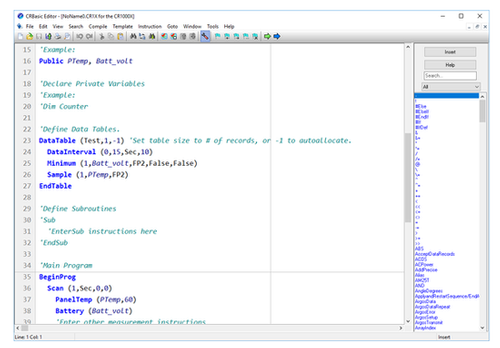 CRBasicEditor Stand-Alone Installation for CRBasic Editor (Download Only)