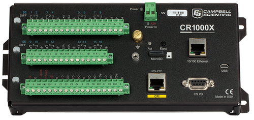 CR1000X Measurement and Control Data Logger