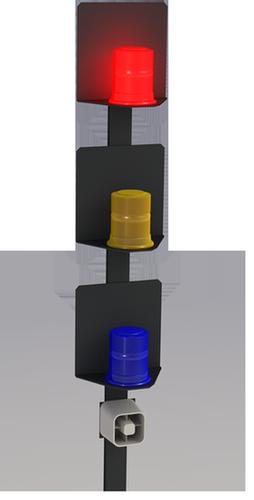 RA100-L Remote Strobe and Siren Alarm