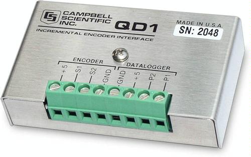 QD1 Incremental Shaft Encoder Interface