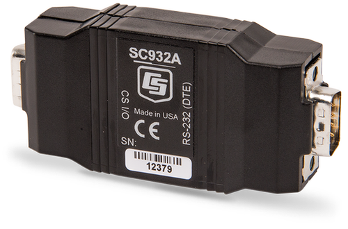 SC932A RS-232 DCE Interface, CS I/O to 9-Pin