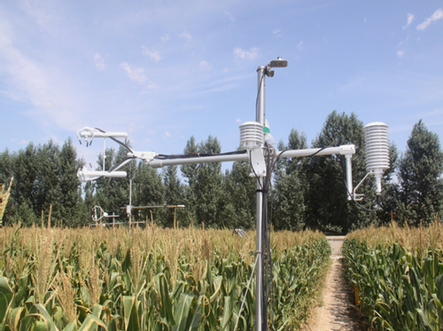 Fully-corrected fluxes are calculated using EasyFlux-DL over a field of maize in northeast China.