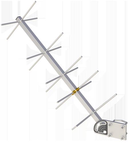 25316 11 dBi GOES Yagi RHCP Antenna with Mounting Hardware