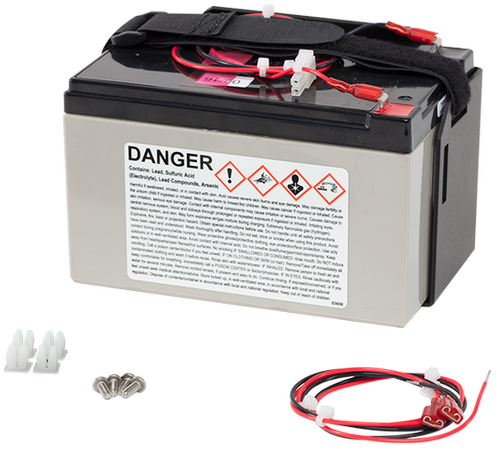 BP12 12 Ah 12 V Sealed Rechargeable Battery with Mounts