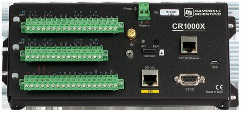 CR1000X 测量控制数据采集器