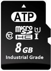 33288 8 GB microSD Flash SLC Memory Card