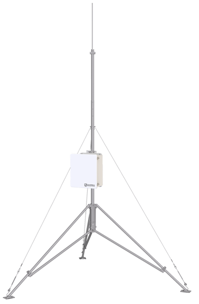tripod with enclosure