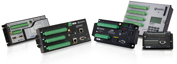 Different models of dataloggers