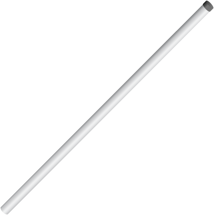 Cm310 56 In Mounting Pole With Cap