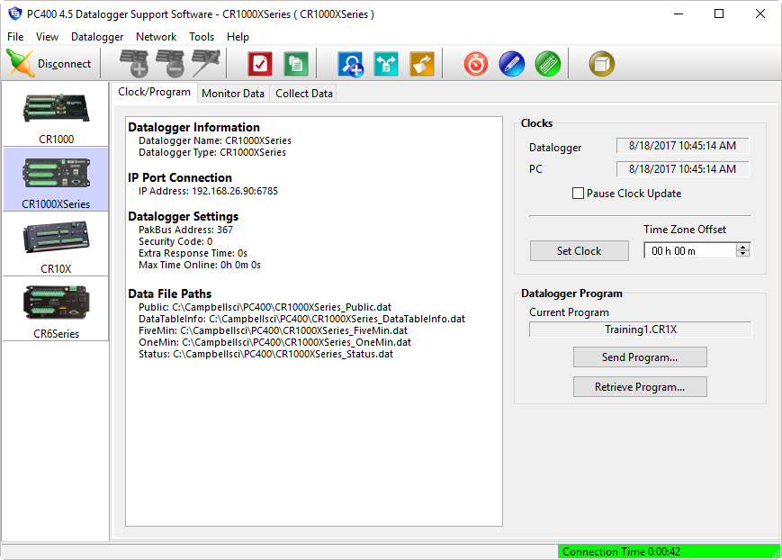 14 3582 pc400 datalogger support software  at crackthecode.co