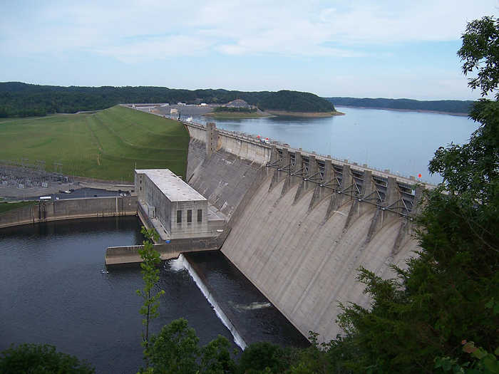 wolf creek dam Hi, how far can you run a boat if you out in a boat below wolf creek dam  if the  dam is running 4 gates for example you could run any boat full.