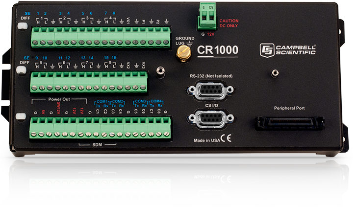 Cr1000 Measurement And Control Datalogger