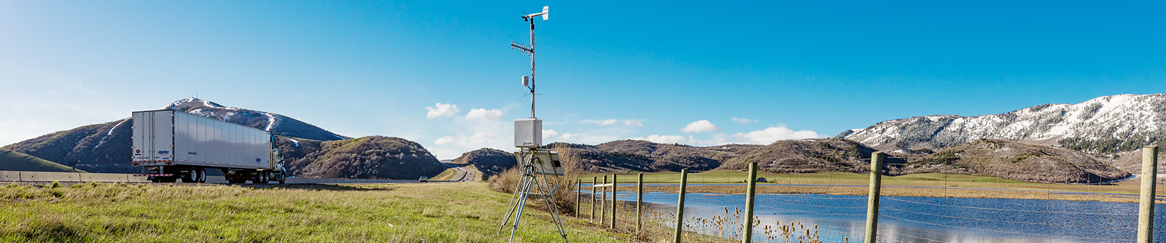 Road Weather—RWIS Road-weather information systems and weather stations