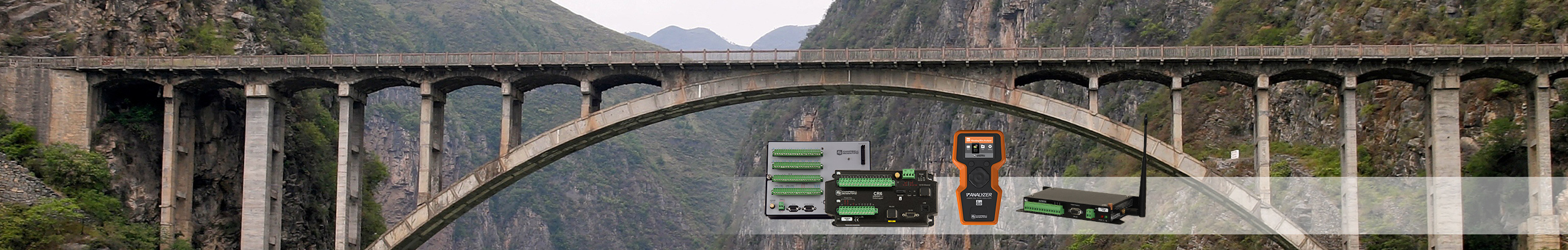Infrastructure Test and monitoring instrumentation for structural and mechanical applications