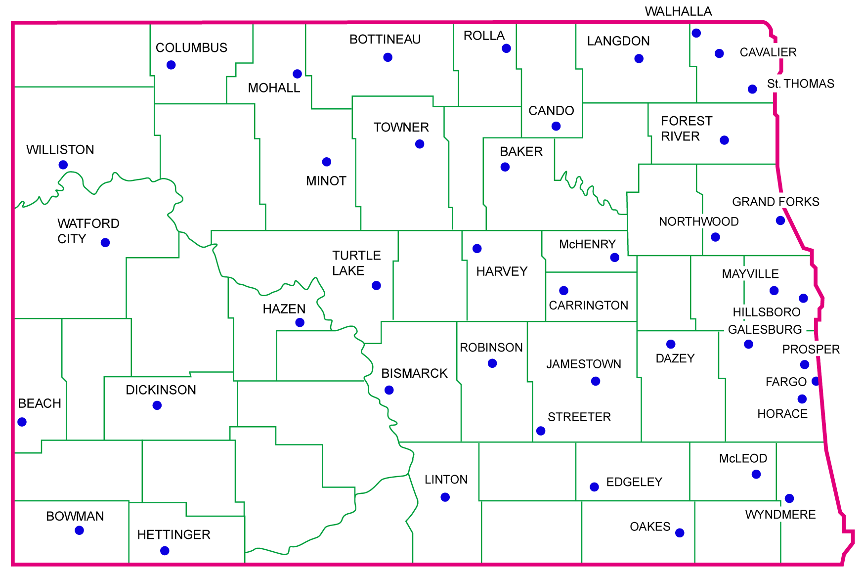 NDAWN sites are found throughout the state and provide basic and custom measurements for a variety of individuals and institutions.