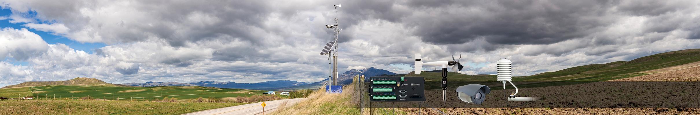 Météorologie Les stations météorologiques et les systèmes de surveillance de long terme