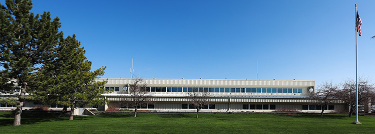 Campbell Scientific building 1