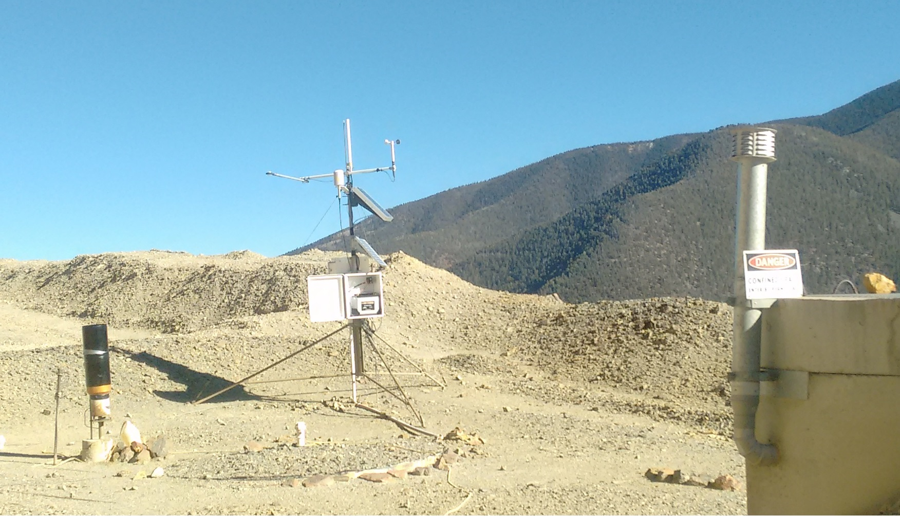 new mexico: weather monitoring