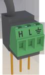 4wpb100 100 ohm, 4-wire prt bridge terminal input module