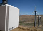 california: wind farm monitoring