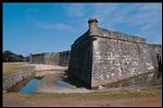 castillo de san marcos: crack monitoring