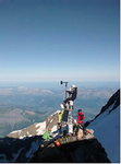 weather monitoring on mont blanc