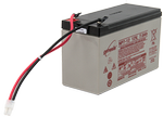 10590 et sealed rechargeable battery without mounting hardware