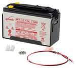 bp7 12 v 7 ah sealed rechargeable battery with mounts and pigtail