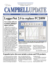 campbell update 1st quarter 2002