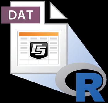 datalogger data to R