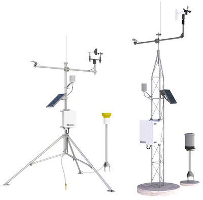 Two example automated weather stations